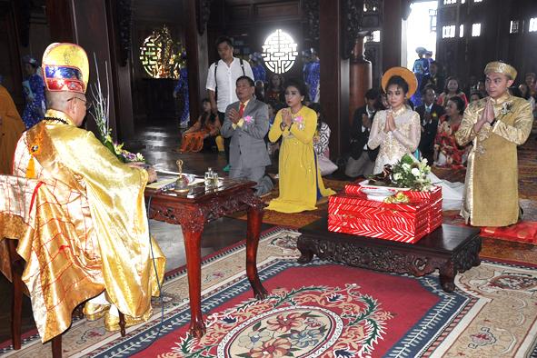 Lễ Hằng thuận  theo  nghi thức Phật giáo