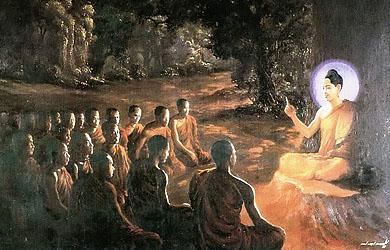 Bộ ảnh đẹp minh họa bản Kinh Phật nói Kinh A Di Đà