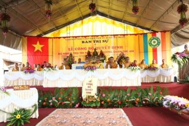 Lễ công bố quyết định bổ nhiệm trụ trì NPĐ Quán Thế Âm