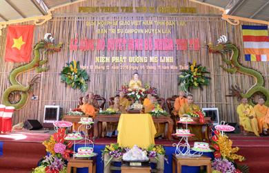 Lễ bố nhiệm Trụ trì Niệm Phật đường Mê Linh Huyện Lăk