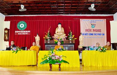 Phật giáo ĐakLak sơ kết Phật sự đầu năm 2018