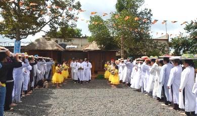 Lễ Dâng Y Tại Tịnh Xá Ngọc Chánh. Huyện Ea HLeo