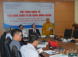Hội Thảo Quốc Tế Tôn Giáo, Kinh Tế Và Cộng Đồng ASEAN