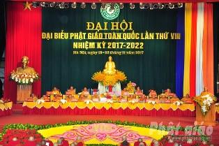 Phiên Họp Trù Bị Đại Hội Đại Biểu Phật giáo Toàn quốc lần thứ VIII