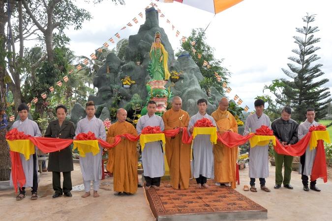 Chùa Phước Thọ Huyện Krông Pắk  Tổ chức Lễ Khánh thành Quán Âm Viên và Tổng kết Phật sự năm 2015