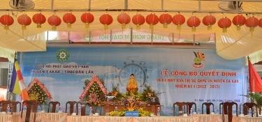 Lễ Ra Mắt Ban Trị Sự GHPGVN Huyện Ea Kar – Tỉnh  Dak Lak