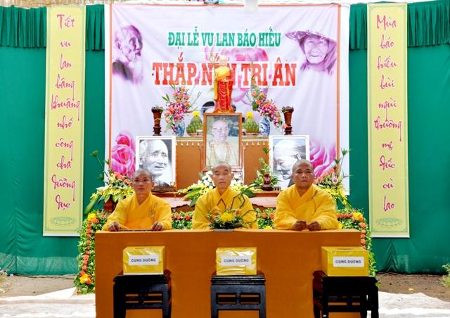 Đại lễ vu lan 2017 tại chùa Kim Quang Krông Năng