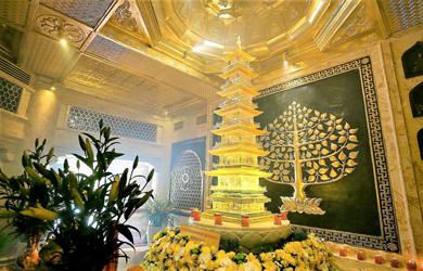 Tôn trí Xá Lợi Phật trên đỉnh Fansipan