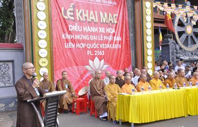 50 chiếc xe hoa rước Phật đón mừng Đại lễ Phật đản Liên Hợp Quốc Vesak 2019
