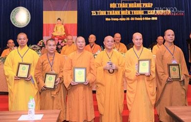Lễ Bế mạc hội thảo ngành hoằng pháp tại Khánh Hòa