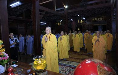 Chùa Sắc tứ Khải Đoan tổ chức Lễ Phật Thành Đạo PL2562