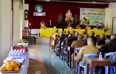 Ban Trị sự GHPGVN tỉnh Đắk Lắk gặp mặt đầu năm
