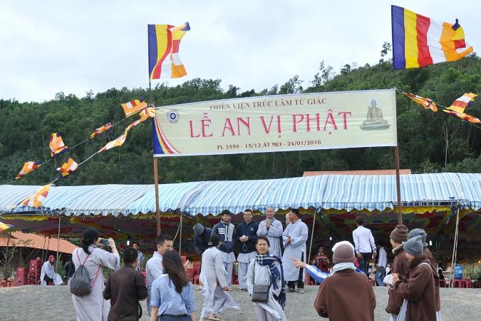 Lễ An Vị Phật  Tại Thiền Viện Trúc Lâm Từ Giác – Huyện Krông Pắc