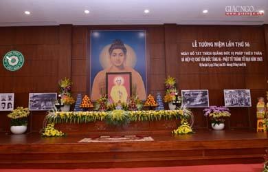 Lễ tưởng niệm, an vị xá-lợi Bồ-tát Thích Quảng Đức