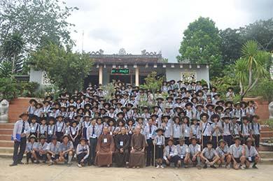 Lễ Khai Mạc Liên Trại Huấn Luyện Anoma –Ni Liên-Tuyết Sơn Khóa VIII Tại Chùa Phước Lâm - Huyện Krông Bông