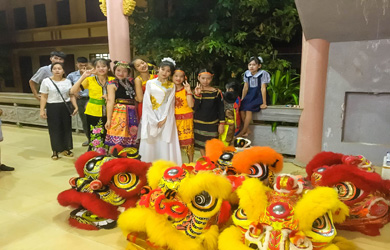 Tịnh xá Ngọc Chơn tổ chức vui trung thu cho các cháu Thiếu nhi