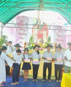 Lễ Vu Lan Báo Hiếu Tại NPĐ Phước Bảo – Krông Bông