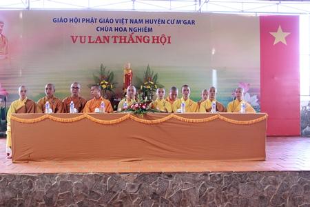 Chùa Hoa Nghiêm (huyện CưM'gar, tỉnh Đắk Lắk)  Long trọng tổ chức Đại lễ Vu lan, Phật lịch 2559- DL 2015