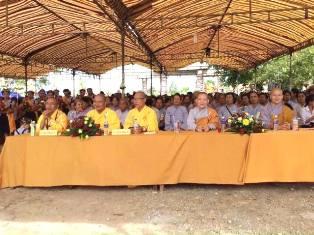 Lễ Phật Đản Tại GHPGVN Huyện Cư Kuin.