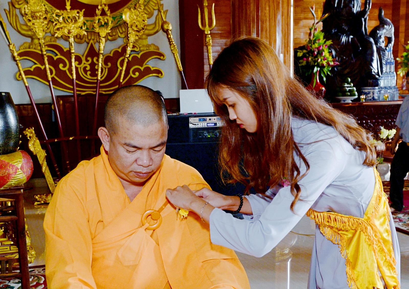 Vu lan thắng hội tại chùa Nam Thiên – TP Buôn Ma Thuột