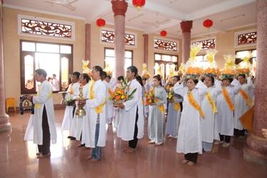 Tịnh xá Ngọc Quang-TP. Buôn Ma Thuột tổ chức Lễ dâng pháp y Ca sa trong mùa An cư Kiết hạ PL 2559 – DL 2015