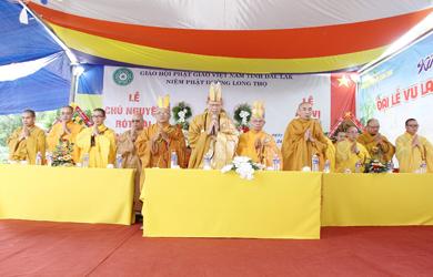 Buôn Đôn: Đại Lễ Vu lan, lễ Đúc chuông và An vị Phật tại Niệm Phật đường Long Thọ.