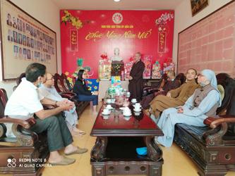 Ban Trị sự GHPG huyện Krông Ana thăm và chúc Tết các cơ quan ban ngành tỉnh Đắk Lắk