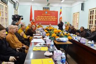HĐTS họp triển khai Đại hội Phật giáo toàn quốc