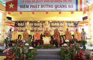 Lễ Bổ Nhiệm Trụ trì Niệm Phật đường Quảng Đà, xã EaLê, huyện Ea Sup