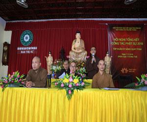 Hội nghị Tổng kết Ban TTTT Phật giáo Đắk Lắk năm 2018