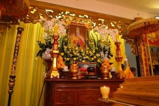 Lễ Nhập Kim Quan Trưởng Lão HT.Thích Trí Tâm