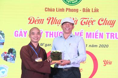 """Chùa Linh Phong tổ chức """"Đêm nhạc Gây Quỹ Cứu trợ Đồng Bào Lũ Lụt Miền Trung"""""""