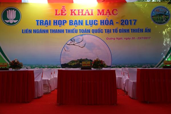Lễ khai mạc trại Lục Hòa 2017