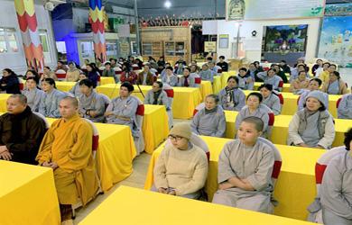 Lâm Đồng: Những hoạt động thuyết giảng cho Hoằng pháp viên tại các tự viện trên TP. Đà Lạt