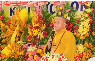 HT.Thích Gia Quang thao giảng về công tác truyền thông Phật giáo