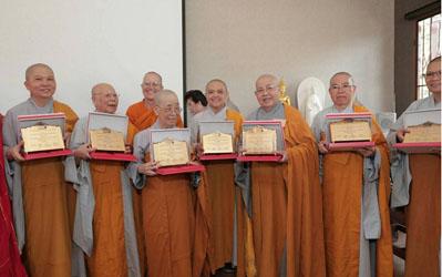 Ni giới Việt Nam tự hào với giải thưởng Nữ giới Phật giáo xuất sắc thế giới