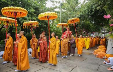 Khánh Hòa: Lễ khai mạc Đại Giới đàn Bồ tát Quảng Đức 2019