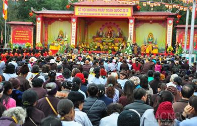 Lễ tưởng niệm 707 năm Phật hoàng Trần Nhân Tông nhập Niết bàn