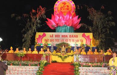"""Thiêng liêng đêm hội hoa đăng """"Phật giáo Trúc Lâm hội tụ và lan toả"""""""