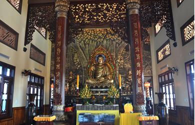 Thiền Viện Trúc Lâm Vạn Đức tưởng niệm 707 năm ngày nhập diệt của Phật hoàng Trần Nhân Tông