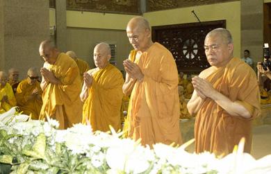 Lễ Thọ tang cố Đại lão Hòa thượng Pháp Sư Giác Nhiên tại Pháp viện Minh Đăng Quang