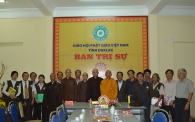 Họp Mặt Tổng Kết Phật Sự Của Ban Thông Tin Truyền Thông Năm 2015