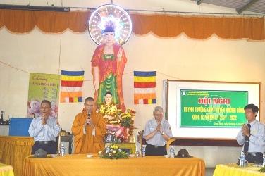 Hội Nghị Huynh trưởng GĐPT Huyện Krông Bông Nhiệm kỳ 2016 – 2021