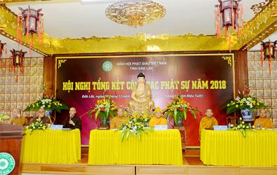 Phật giáo Đăk Lăk tổng kết công tác Phật sự năm 2018