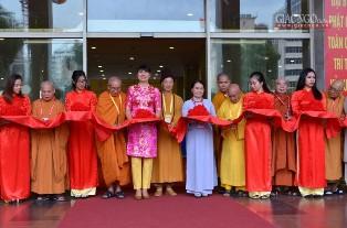 Khai Mạc Triển Lãm Hình Ảnh Phật Sự Tại Đại Hội VIII