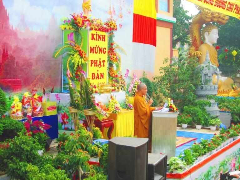 Đại Lê Phật Đản PL2560 – 2016 Huyện Krông Ana