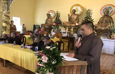 Phật giáo huyện Krông Pắc Hội nghị tổng kết Phật sự năm 2018