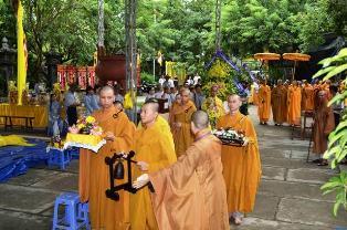 Gần 200 Đoàn Phúng Viếng Đức Phó Pháp Chủ Trưởng lão HT.Thích Thiện Bình
