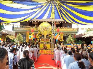 Phật Giáo Thị Xã thị xã Buôn Hồ Tổ Chức Đại Lễ Phật Đản PL 2561 – DL 2017