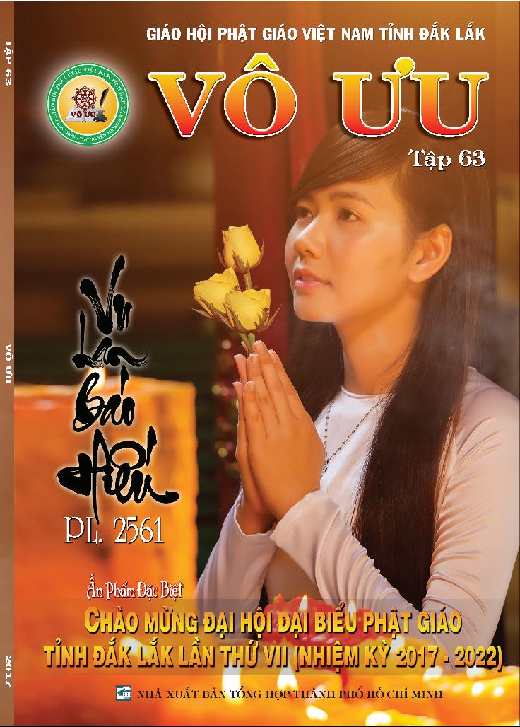 Tập San Vô Ưu số 63 - Vu Lan Báo Hiếu PL.2561